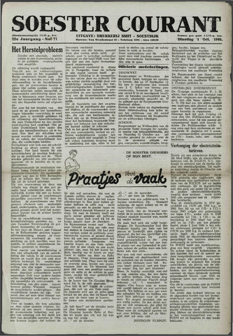 Soester Courant 1946-10-01