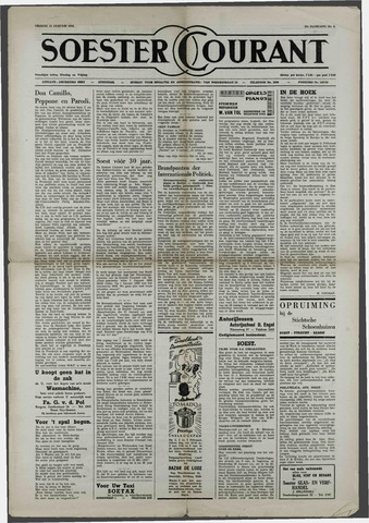 Soester Courant 1954-01-22