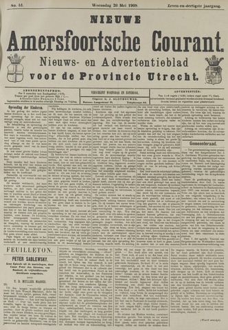 Nieuwe Amersfoortsche Courant 1908-05-20