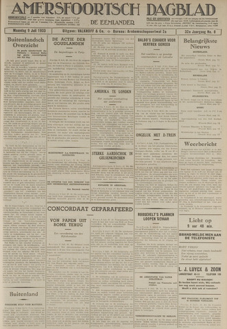 Amersfoortsch Dagblad / De Eemlander 1933-07-10