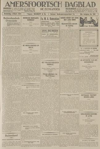 Amersfoortsch Dagblad / De Eemlander 1931-03-05