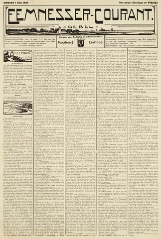 Eemnesser Courant 1924-07-01