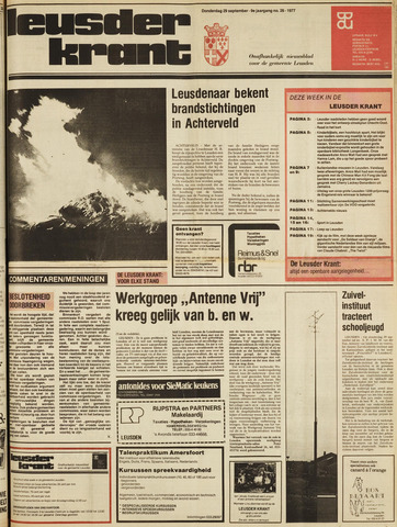 Leusder Krant 1977-09-29