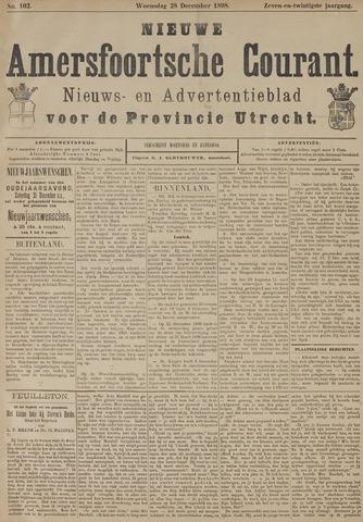 Nieuwe Amersfoortsche Courant 1898-12-28
