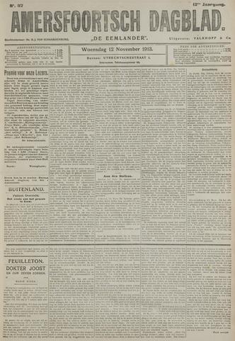 Amersfoortsch Dagblad / De Eemlander 1913-11-12
