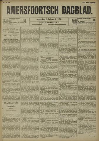 Amersfoortsch Dagblad 1905-02-06