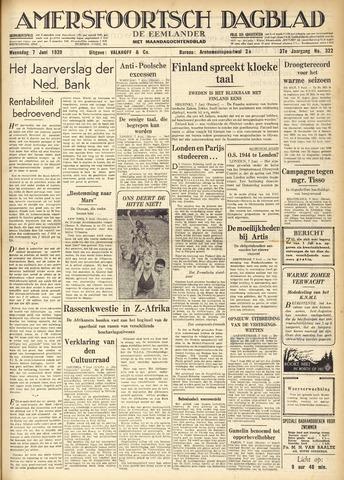 Amersfoortsch Dagblad / De Eemlander 1939-06-07