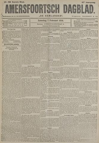 Amersfoortsch Dagblad / De Eemlander 1914-02-07