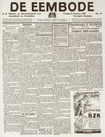 De Eembode 1926-10-15