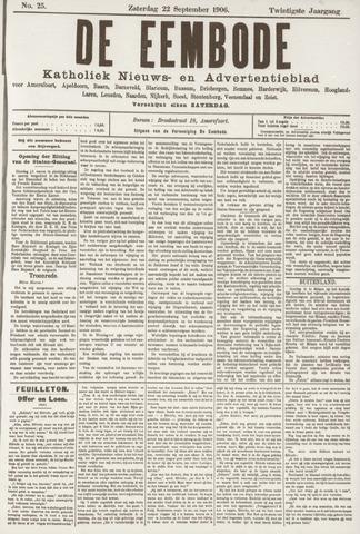De Eembode 1906-09-22