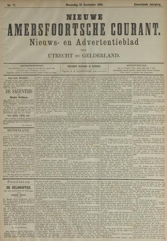 Nieuwe Amersfoortsche Courant 1888-09-26