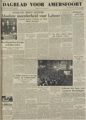 Dagblad voor Amersfoort 1950-02-25