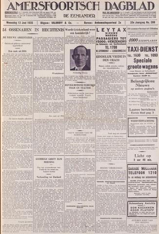 Amersfoortsch Dagblad / De Eemlander 1935-06-12