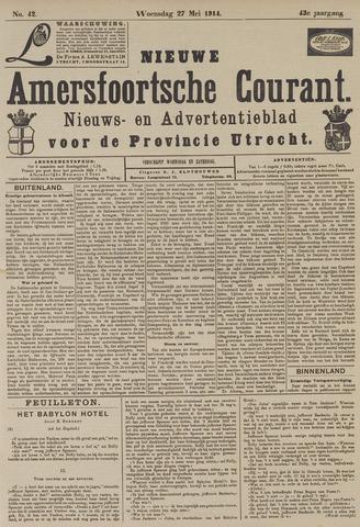 Nieuwe Amersfoortsche Courant 1914-05-27