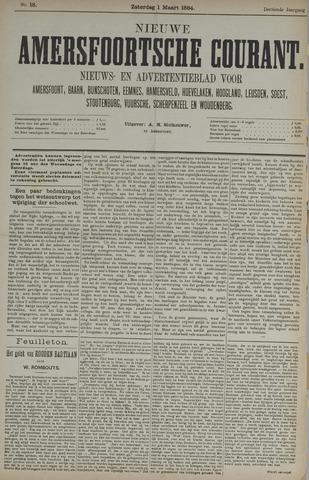 Nieuwe Amersfoortsche Courant 1884-03-01