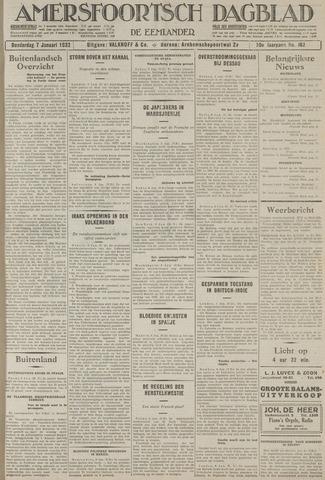 Amersfoortsch Dagblad / De Eemlander 1932-01-07