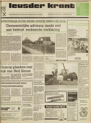 Leusder Krant 1986-04-24