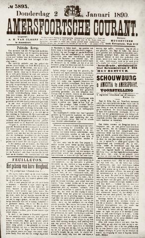Amersfoortsche Courant 1890