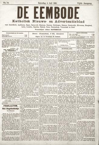 De Eembode 1891-07-04