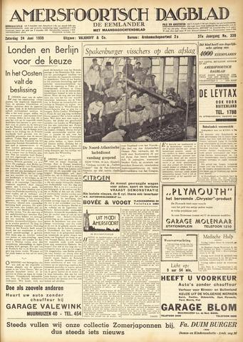 Amersfoortsch Dagblad / De Eemlander 1939-06-24