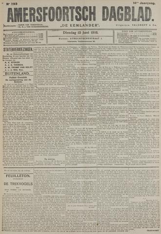 Amersfoortsch Dagblad / De Eemlander 1916-06-13