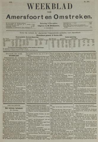 Weekblad voor Amersfoort en Omstreken 1878-11-09