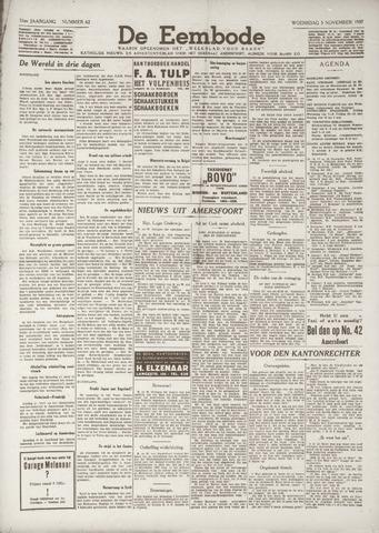 De Eembode 1937-11-03