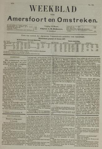 Weekblad voor Amersfoort en Omstreken 1878-03-15