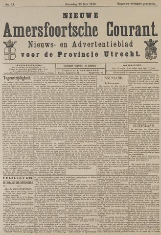 Nieuwe Amersfoortsche Courant 1910-05-28