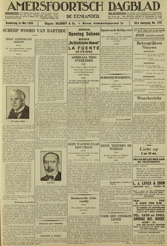 Amersfoortsch Dagblad / De Eemlander 1934-05-31