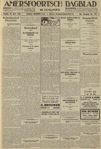 Amersfoortsch Dagblad / De Eemlander 1932-04-26