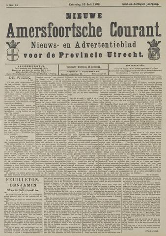 Nieuwe Amersfoortsche Courant 1909-07-10