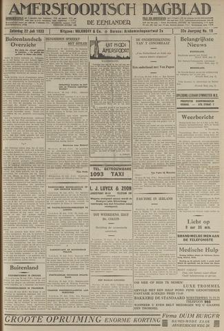 Amersfoortsch Dagblad / De Eemlander 1933-07-22