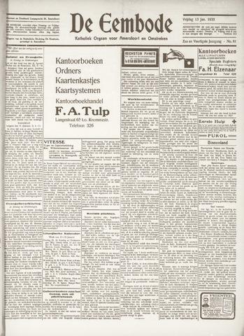 De Eembode 1933-01-13