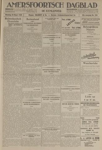 Amersfoortsch Dagblad / De Eemlander 1934-03-26