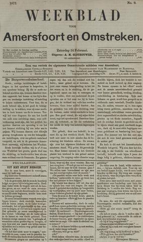 Weekblad voor Amersfoort en Omstreken 1872-02-24