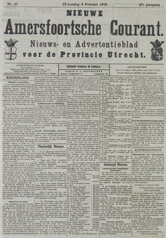 Nieuwe Amersfoortsche Courant 1918-02-06