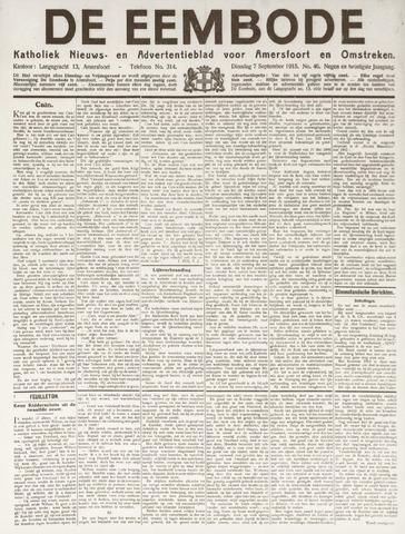 De Eembode 1915-09-07