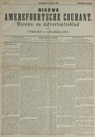 Nieuwe Amersfoortsche Courant 1889-02-27