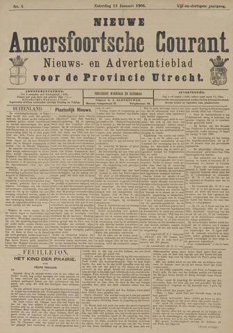 Nieuwe Amersfoortsche Courant 1906-01-13