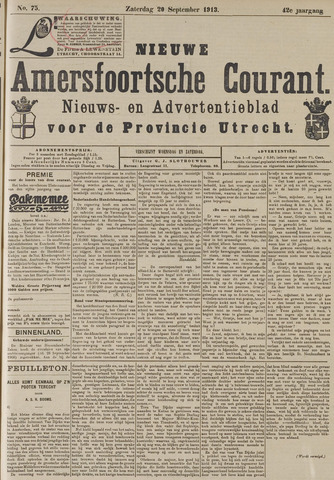 Nieuwe Amersfoortsche Courant 1913-09-20