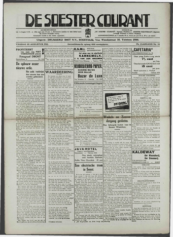 Soester Courant 1940-08-23