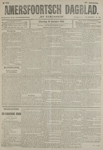 Amersfoortsch Dagblad / De Eemlander 1915-01-19