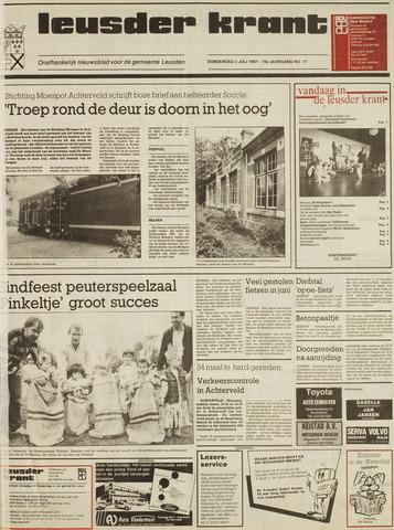 Leusder Krant 1987-07-02