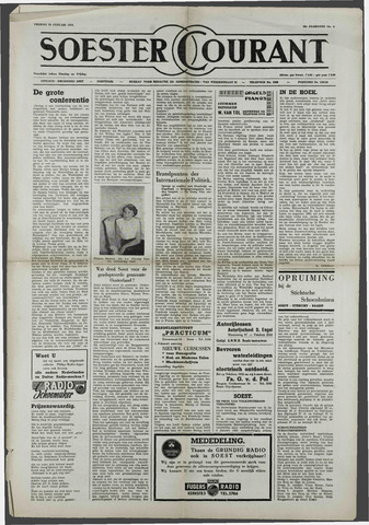 Soester Courant 1954-01-29