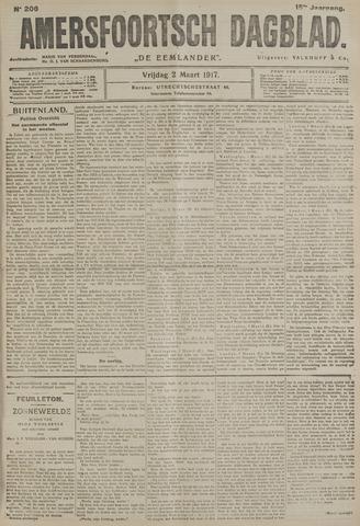 Amersfoortsch Dagblad / De Eemlander 1917-03-02
