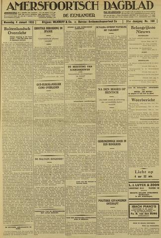 Amersfoortsch Dagblad / De Eemlander 1933-01-04
