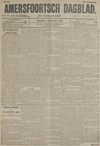 Amersfoortsch Dagblad / De Eemlander 1916-08-08