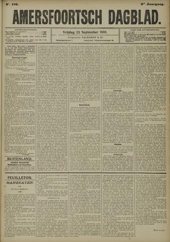 Amersfoortsch Dagblad 1910-09-23