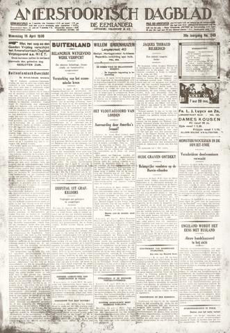 Amersfoortsch Dagblad / De Eemlander 1930-04-16